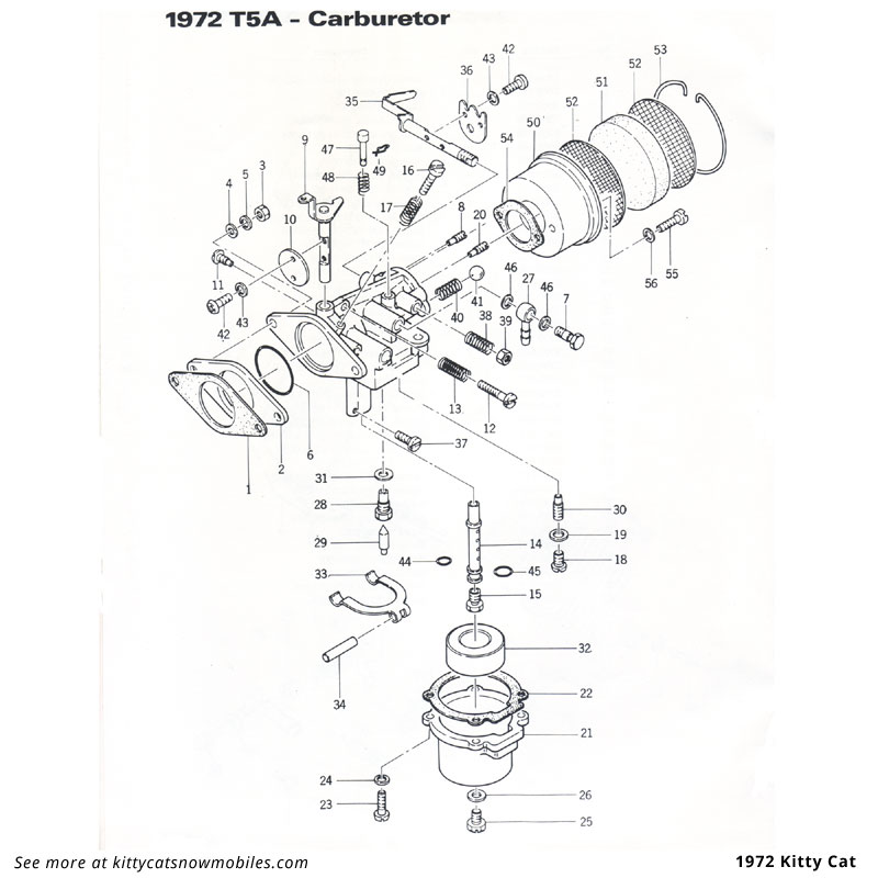 72 Carburetor parts