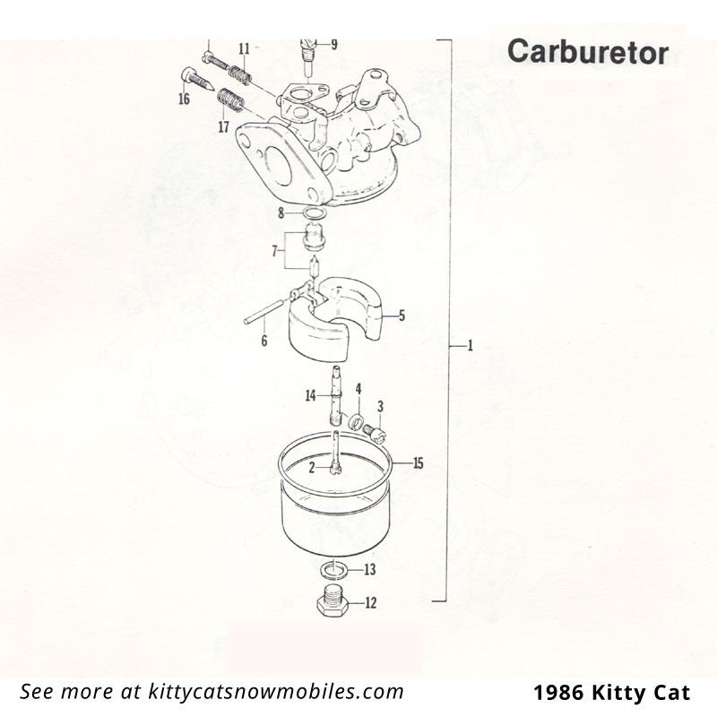 86 Carburetor parts