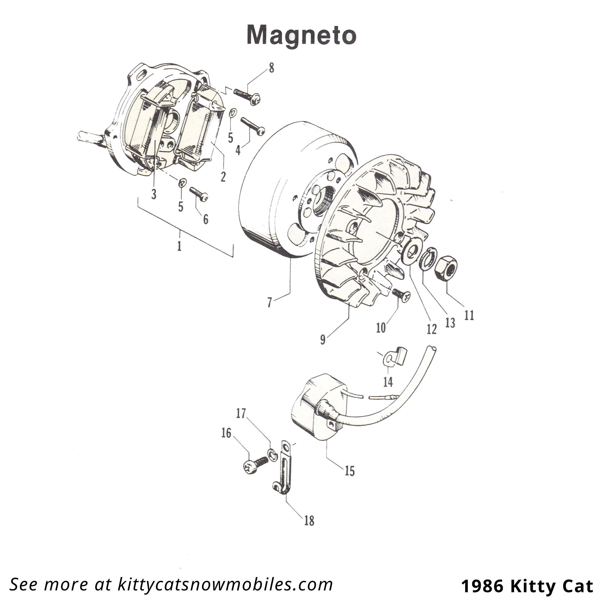 86 Magneto parts
