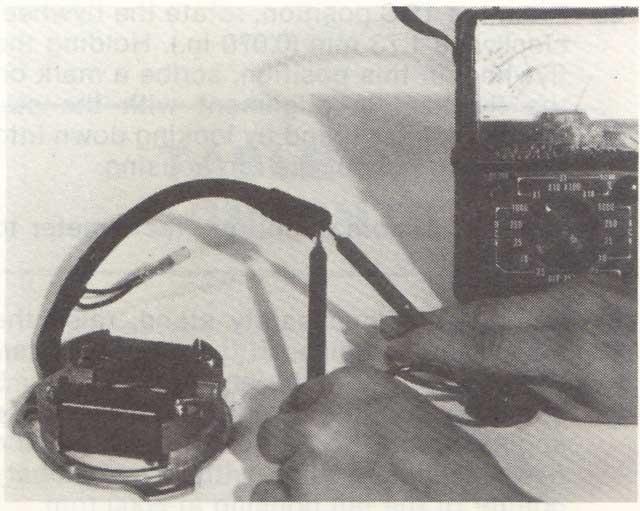 lighting coil test