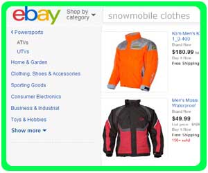 cheapest snowmobile clothes