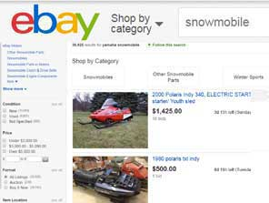 OEM Indy snowmobile parts