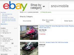 OEM Sno-Scoot snowmobile parts