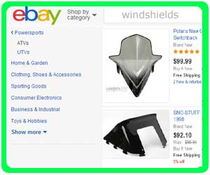 discount snowmobile windshields