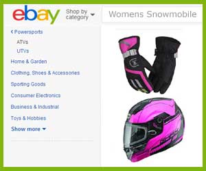 discount womens snowmobile gloves