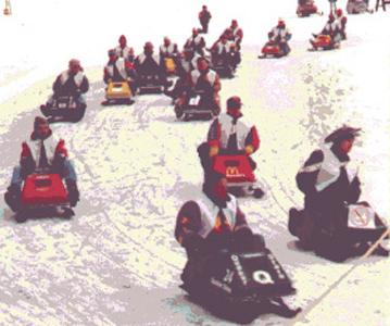 racing lineup