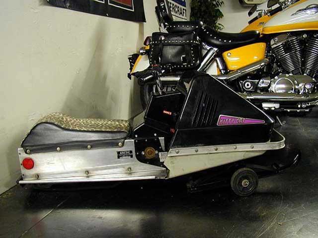 75 Kitty Cat snowmobile