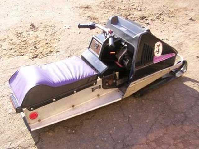 75 Kitty snowmobile
