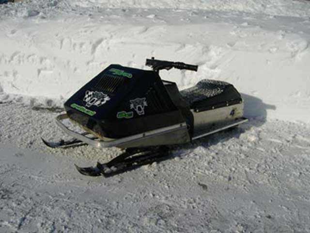 77 Kitty Cat snowmobile