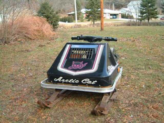 77 Kitty snowmobile