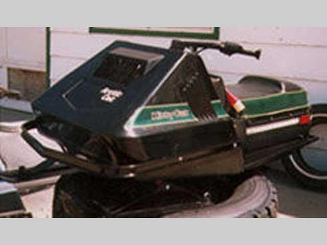 80 Kitty Cat snowmobile