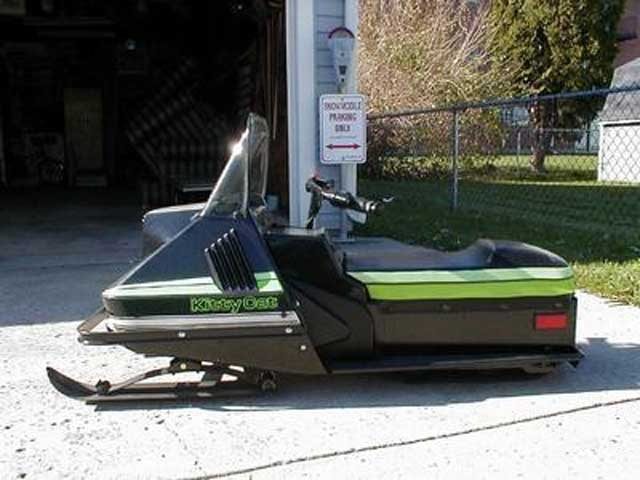 81 Kitty Cat snowmobile