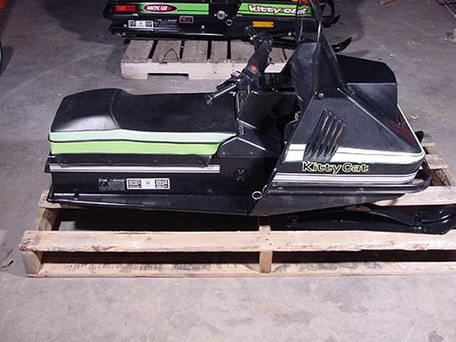 90 Kitty snowmobile