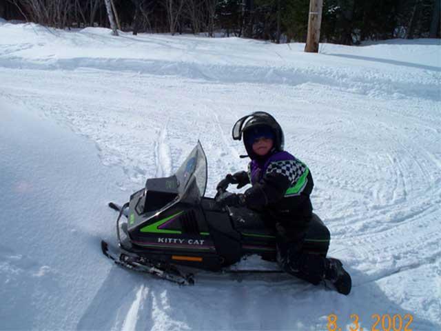92 Kitty Cat snowmobile