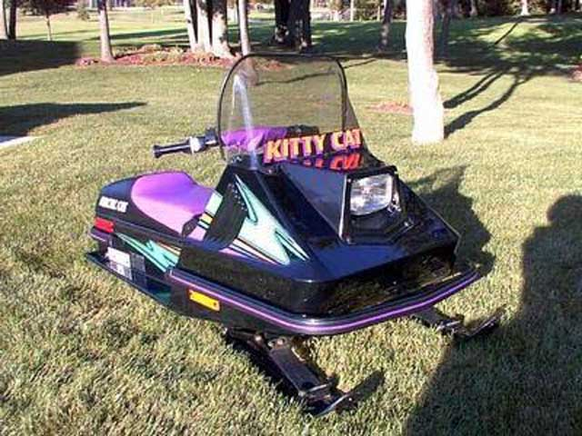 96 Kitty Cat snowmobile