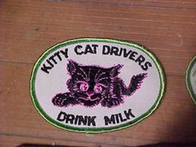 Cat snowmobile patch