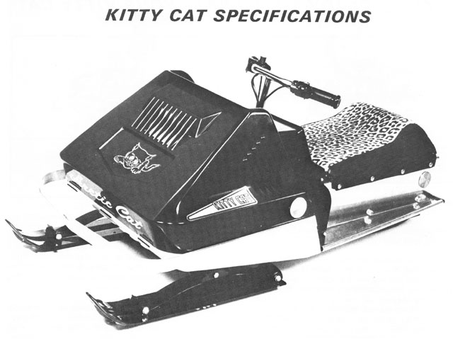 Kitty Cat snowmobile specs