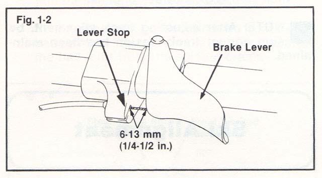 how to adjust brake lever