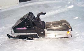 kids snowmobile