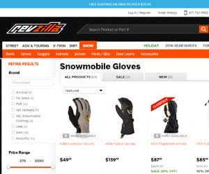 discount snowmobile gloves
