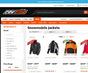 discount snowmobiling jackets
