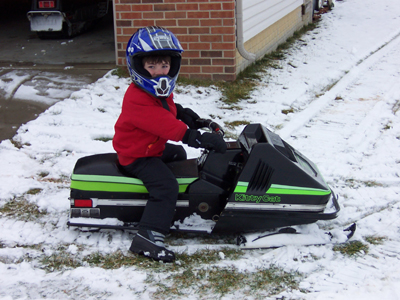 1981 Kitty cat Snowmobile