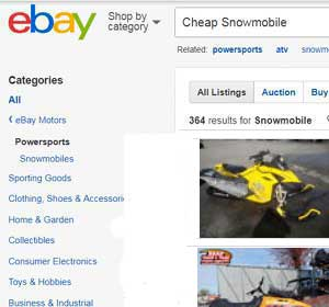 Scout Snowmobile Parts Skidoo Scout